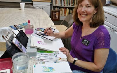 May 2021 Featured Artist – Carol Tribou