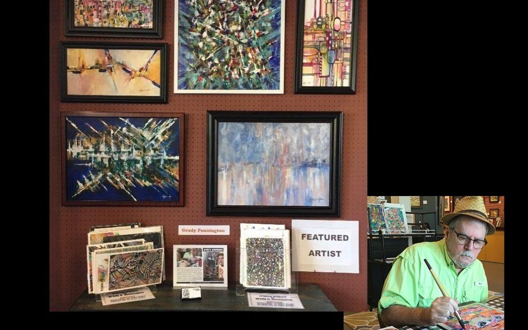 October 2021 Featured Artist – Grady H Pennington